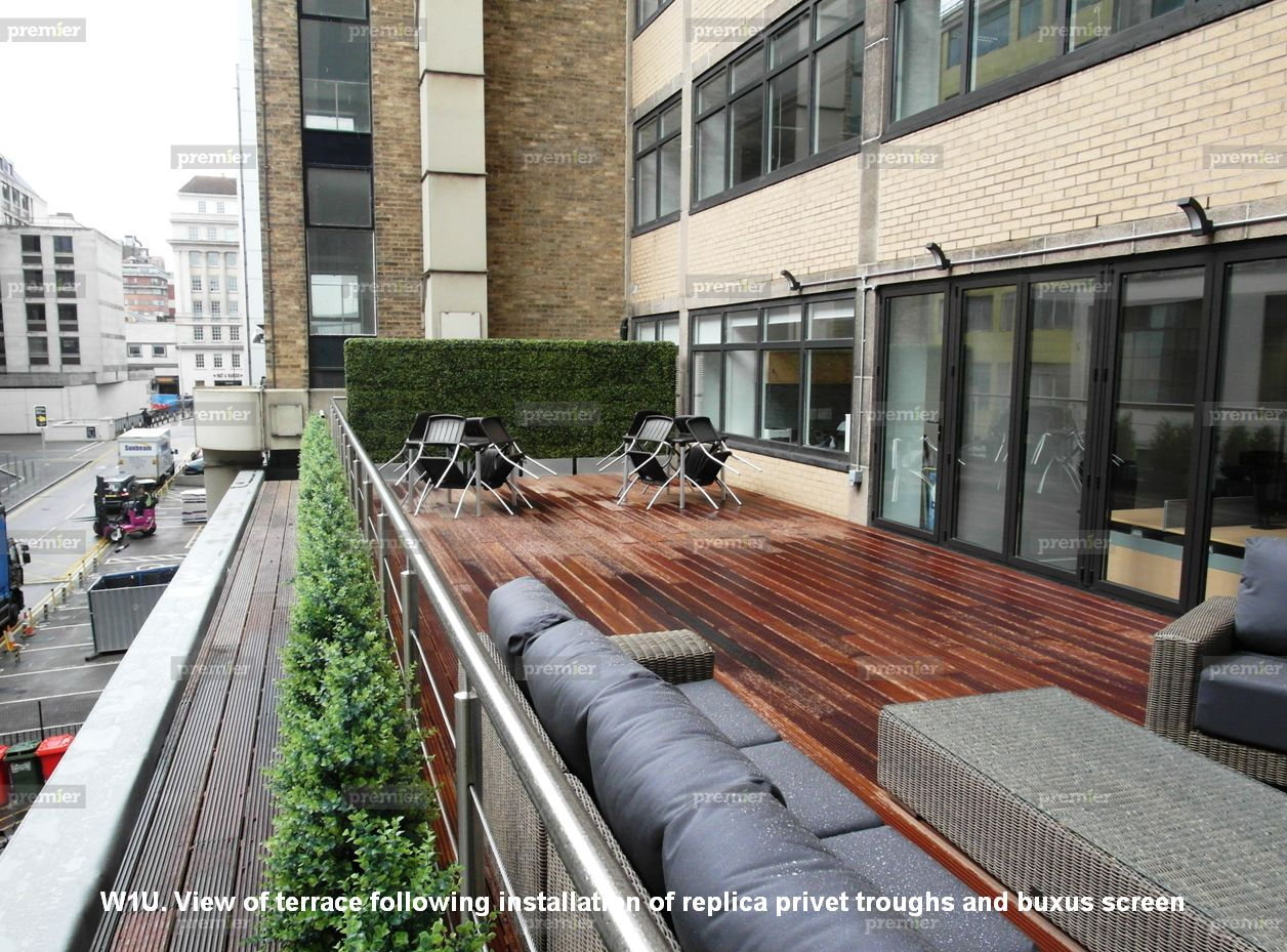 Case study how roof terraces are transformed by well for Use terrace in a sentence